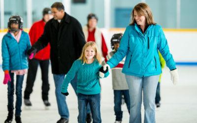public-skating-family